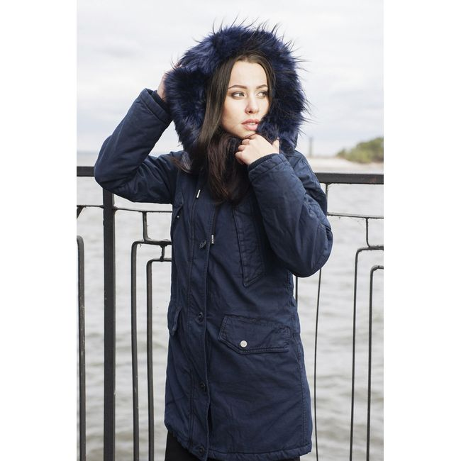 LADIES' PARKA JACKET SHADOW  ACPJ-180547-002