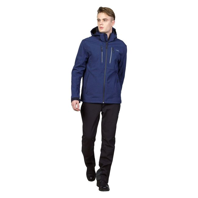 MEN'S SOFTSHELL JACKET ROB  ACSHJ-180521-001